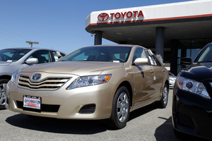 Toyota Camry. Photo / Supplied