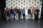 Cast of 'X-Men: Days of Future Past' seen at the 20th Century Fox Presentation at 2013 Comic-Con. Photo / AP