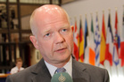 British Foreign Secretary William Hague. Photo / AP