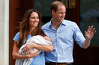 Prince William and Kate, Duchess of Cambridge have taken their baby home.Photo / AP