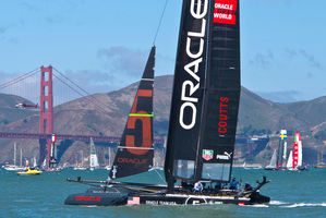 Oracle CEO Sir Russell Coutts is probably right - the America's Cup match between his team and Emirates Team NZ will be close. File photo / Alex Robertson