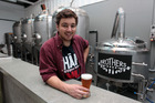 Nick Anderson-Gee, manager of Brothers Beer. Photo / Doug Sherring