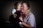 Sarah Craig and her baby Skyla. Photo / APN