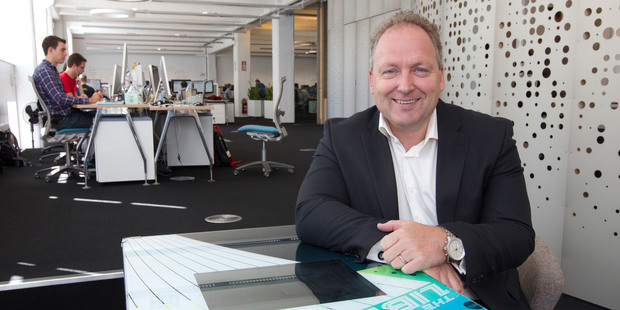Rod Drury, founder and chief executive of internet-based accounting software company Xero. The company is currently chasing sales growth in lieu of profits.  Photo / NZ Herald