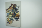 Accumulations 8 by artist Amanda Gruenwald on show at Sanderson Contemporary Art in Herne Bay. Photo / Dean Purcell.