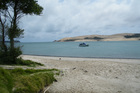 The Hokianga harbour.