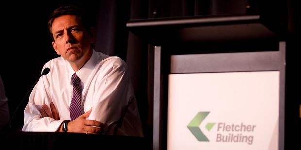 Fletcher Building chief executive Mark Adamson. Photo / NZH