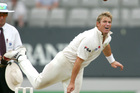 Former Australian spinner Shane Warne lashed out against Kiwi umpire Tony Hill following England's victory in the second Ashes test. Photo/Brett Phibbs.