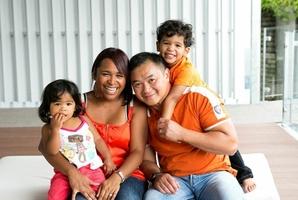 Cindy Paggoa and her family.