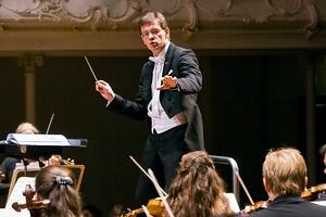 APO's musical director, Eckehard Stier. Photo / Adrian Malloch