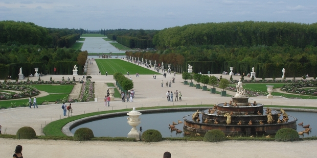 Andre Le Notre's gardens impressed European nobility and he went on to create notable designs for their palaces.