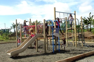 The children's playground gifted to the people of the Solomon Islands