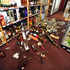 Broken bottles litter the floor of Regional Wines and Spirits in Wellington after the quake struck. Photo / SNPA