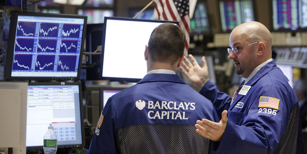 The 'average' forex market daily volume at 544 times greater than the biggest day ever on the NYSE. Photo / AP