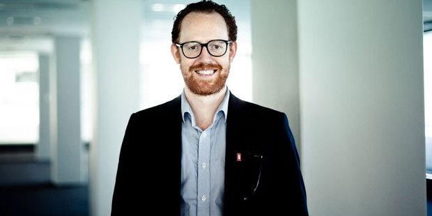 Wellington filmmaker and entrepreneur Rollo Wenlock.
