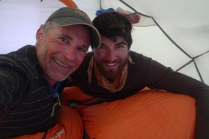 Marty, 53, and Denali, 25, had hoped to be the first father and son team to reach the peak.
