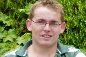 Matthew Purchase suffered permanent brain damage when he was shot while on a working holiday in New Zealand.