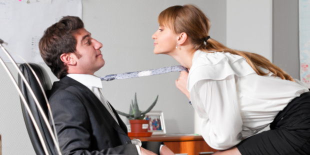 Would you flirt to get ahead?Photo / Thinkstock
