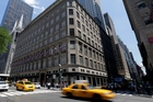 Saks' flagship store on Fifth Ave, New York, sits on some of the most valuable real estate in the world. Photo / AP