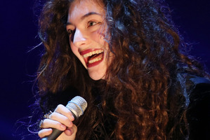 Lorde's song Royals is proving to be popular in America. Photo/Getty