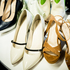 Stylist Ana's selection of shoes - including Kate Sylvester's patent pumps and suede heels by Briarwood. Photo / Carolyn Haslett