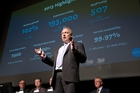 Xero chief executive Rod Drury says the company is investing heavily into the US. Photo / Mark MItchell