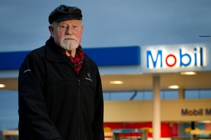 Phil Fewings, 82, says he won't be returning to Mobil Clearview. Photo / Sarah Ivey