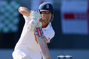 Alastair Cook has been captaining England with ever-increasing assurance. Photo / Getty Images