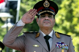 General Abdelfattah al-Sisi's agenda has been exposed. Photo / AP