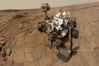 Deciding how to land the rover was a real challenge. Photo / AP