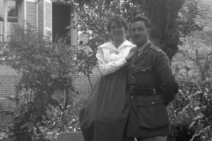 The photos of Albert Chapman and his friend were discovered by cafe owner Dominique Zanardi, who runs a museum of wartime memorabilia in the Somme village of Pozieres.