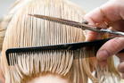 Does a good wife need one of those bouncy hair cuts which trim your blonde hair.Photo / Thinkstock