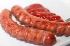 Delicious German sausages.