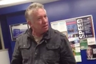 Greg Shuttleworth was filmed racially abusing taxi driver Tariq Humayun. See the video at nzherald.co.nz.