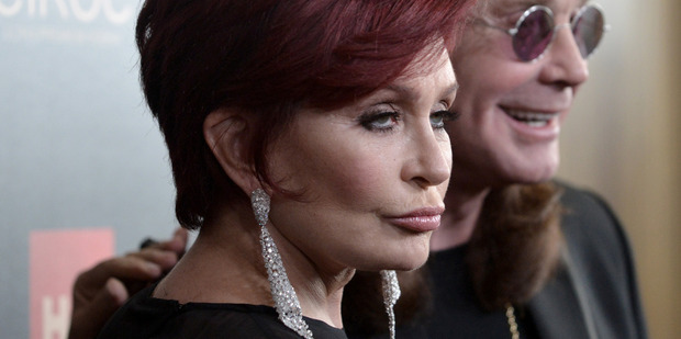 Sharon Osbourne says Kanye West should be selling cars. Photo / AP