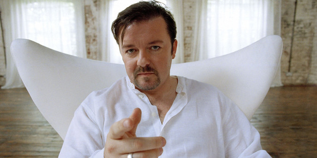 Ricky Gervais as David Brent.