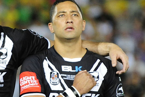 Benji Marshall is hoping he can round off his glittering rugby league career with a second World Cup triumph for New Zealand. Photo / Getty Images.