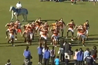 When Waikato met East Coast-Ngati Porou in a Ranfurly Chield challenge match on Tuesday, the pre-match performance really stole the show. Photo / Youtube.