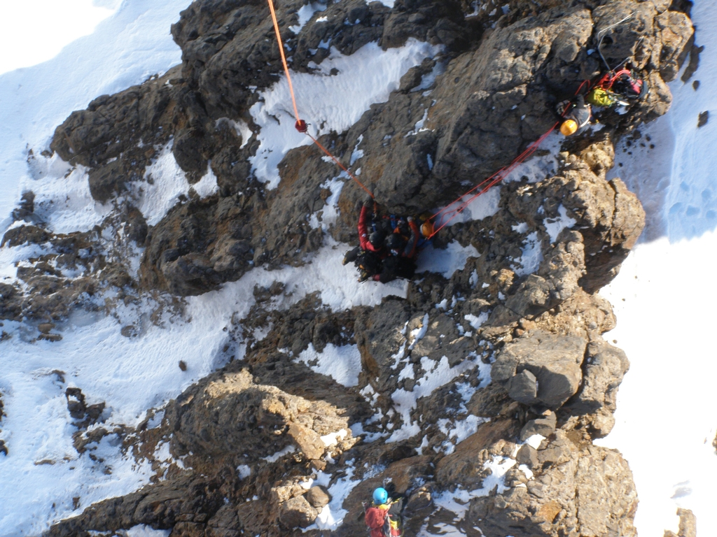 Taupo's Greenlea rescue helicopter was involved in a dramatic rescue of an alpine climber on Mt Ruapehu.