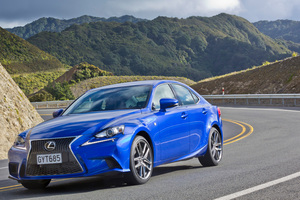 Lexus New Zealand has just launched the latest IS range - the IS250 (pictured), IS300 and IS350.