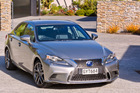 Lexus NZ has just launched the latest IS300F Sport hybrid, featuring the company's famous spindle front grille.