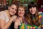 Stephanie Cook and her adopted Russian daughters, Katya, aged 15, left, and Nadya, 11, at their home in Wellington. Photo / Mark Mitchell