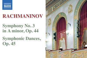 CD cover: Rachmaninov