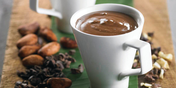 Cashew Nut Hot Chocolate from the book Real Food Chef by Libby Weaver.