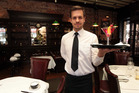 Waiter Ivan Lecanda may have wonderful manners but that's not enough to overcome the Brownstone's culinary problems. Photo / Doug Sherring