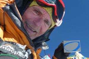 Mountain climber Marty Schmidt.