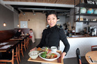 Yuka Ito, of Janken Restaurant, in Ponsonby, serves another adventurously international meal. Photo / Doug Sherring
