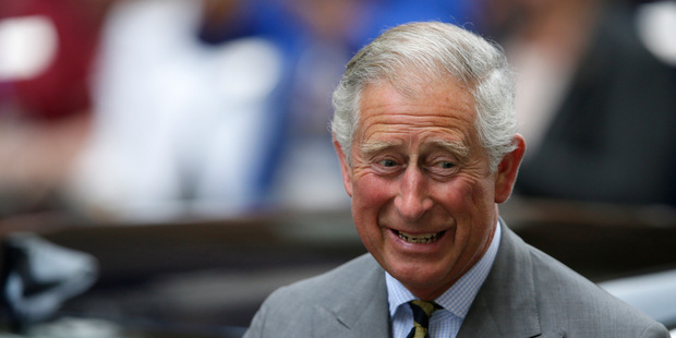 Prince Charles says his new grandson will be known as 'Georgie'.Photo / AP