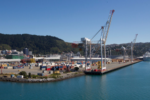 CentrePort in Wellington. File photo / Mark Mitchell
