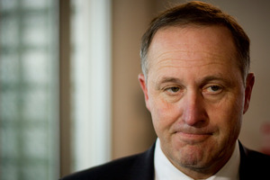 John Key says he takes responsibility for Henry's inquiry. Photo / Dean Purcell